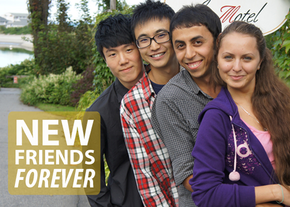 Make new friends forever