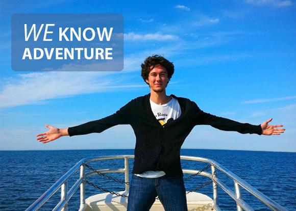 We know adventure
